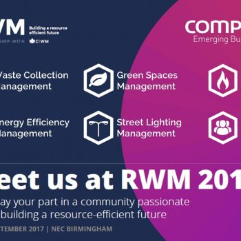 Compta at RWM 2017, 12-14 September, NEC Birmingham