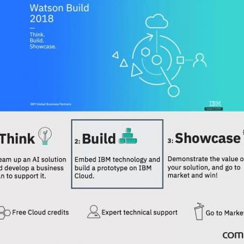 Compta na segunda fase do IBM Watson Build 2018