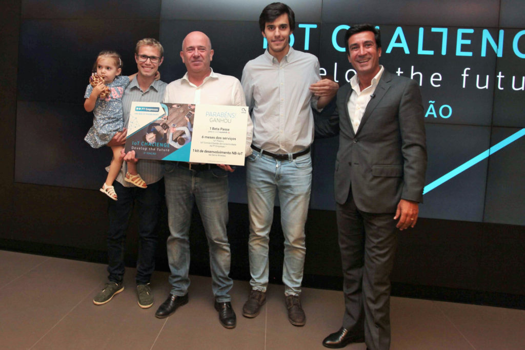 Compta Emerging Business wins IoT Challenge 2018 from Altice Group