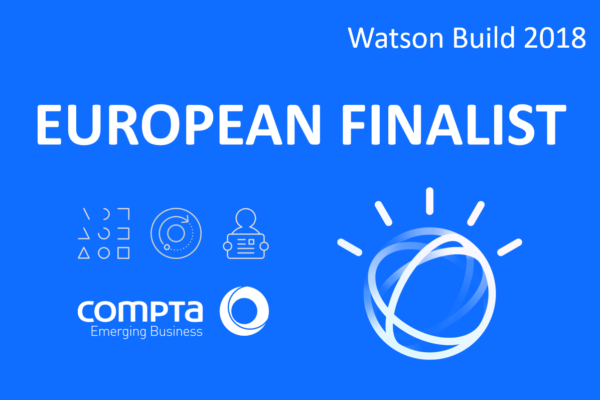 Compta Emerging Business na final europeia do Watson Build Challenge