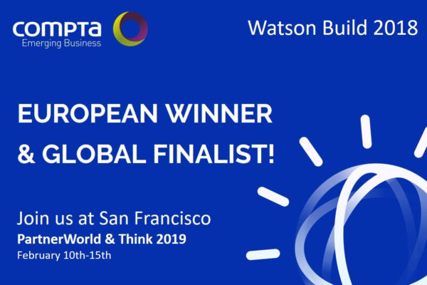 Compta Emerging Business vence final europeia do IBM Watson Build 2018